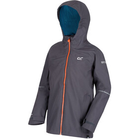 Regatta Hipoint IV Veste Stretch Garçon, seal grey